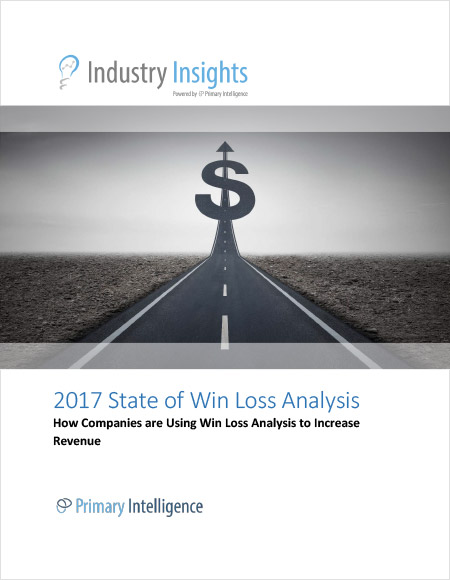 2017 State of Win Loss Industry Report