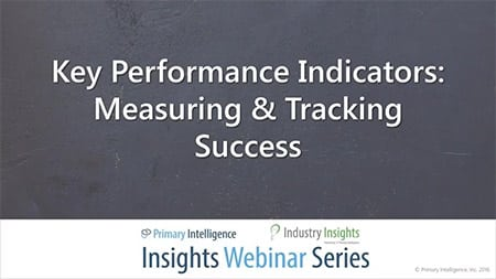 Webinar: B2B Vendor Loyalty - KPIs